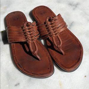 """FRYE """"Zoe"""" hurrache sandals"""